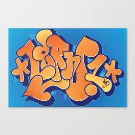 Lern 1 Bubblegum Graffiti NYC Canvas Print
