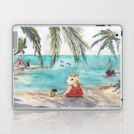 Ginger's Gone On Holiday Laptop & iPad Skin