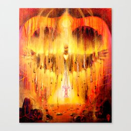 'Fire of Transformation' Canvas Print