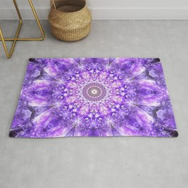 Light of Hope Mandala Rug