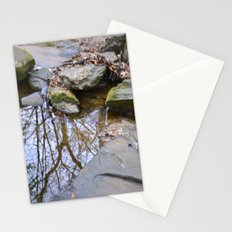 water reflection Stationery Cards