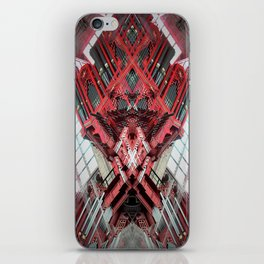 Cathedral of St. Michael and St. Gudula Bruxelles roschach symmetry caleidoscope iPhone Skin