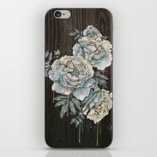Peony Wood iPhone & iPod Skin