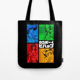 142 Cowboy RGB Tote Bag