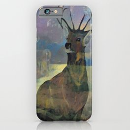 """""""White Tail Deer"""" iPhone Case"""