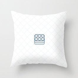 Mattress Throw Pillow
