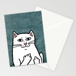 Naughty Cat Stationery Cards