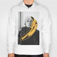 velvet underground Hoodies featuring Warhol Underground by NoHo