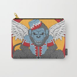 Winged Monkey Carry-All Pouch