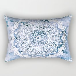 BLUE SKY MANDALA Rectangular Pillow