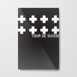 Suisse//Six Metal Print