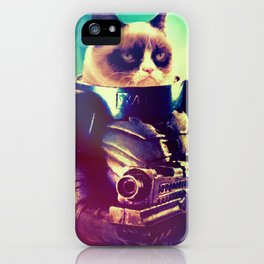 GRUMPY STRAX iPhone Case