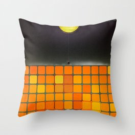 Nothing - Facebook Shapes & Statuses Throw Pillow