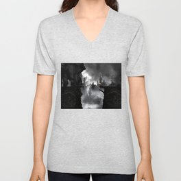 the beauty and the beast Unisex V-Neck