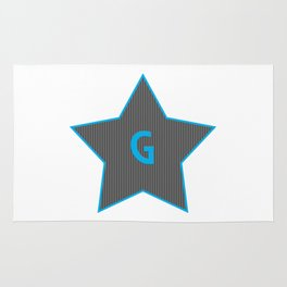 Initials | Star | G Rug
