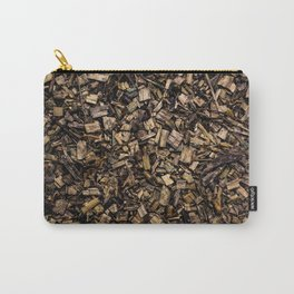 Wood Chips Carry-All Pouch