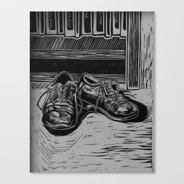 Shoes to Fill Canvas Print