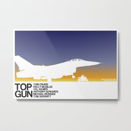 Top Gun Metal Print