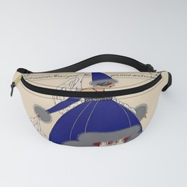 """Martha Romme Couture Design """"Germinal"""" Fanny Pack"""