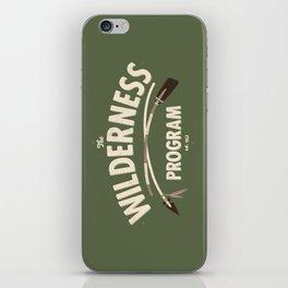 The Wilderness Program iPhone Skin