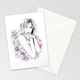 In Flowers Stationery Cards