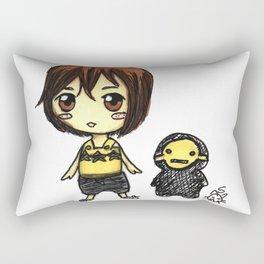 Girls and Ghouls Rectangular Pillow