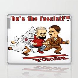 Who's The Fascist? Laptop & iPad Skin