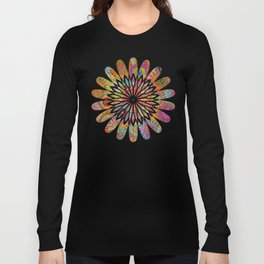 Mysterious Mandalas Long Sleeve T-shirt