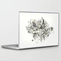 hamburger Laptop & iPad Skins featuring Hamburger field by clemence gastan