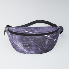 Ultra Violet Marble #1 #decor #art #society6 Fanny Pack