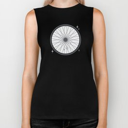 Bicycle rim with the solar system Biker Tank