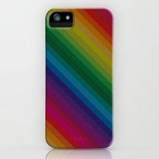 Sophisticated Rainbow iPhone (5, 5s) Slim Case