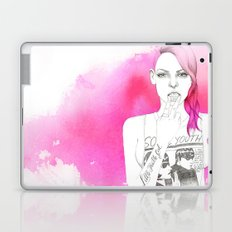 Little Trouble Girl Laptop & iPad Skin