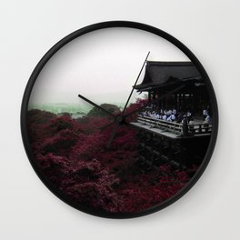 From a distance (Kyoto, Japan) Wall Clock