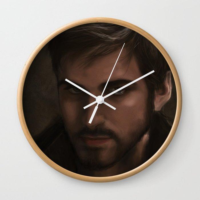 Ouat Killian Jones Captain Hook Wall Clock