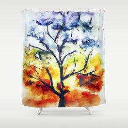Chakra Tree of Life Shower Curtain