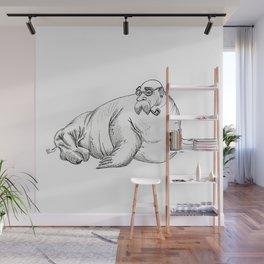 Walrus Wall Mural