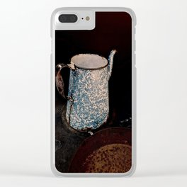Coffee Pot, Haunted Stove- Hell's gate, B.C. Clear iPhone Case