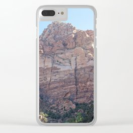 Watchman Trail | Zion National Park Views Clear iPhone Case