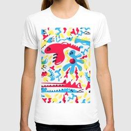 Kid Zoo Doodle T-shirt