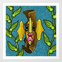Garibaldi Fish Art Print