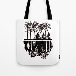 Stuck in the upside down, Strange eleven thing gift Tote Bag