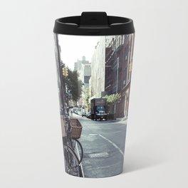 Bikes in Soho Travel Mug