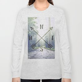 Forest Compass Long Sleeve T-shirt