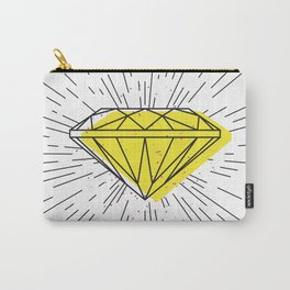 Shiny diamond Carry-All Pouch