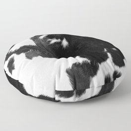 Modern Cowhide Floor Pillow