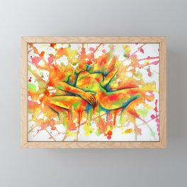 Colorful Climax Framed Mini Art Print