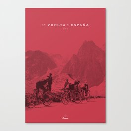Vuelta España Canvas Print