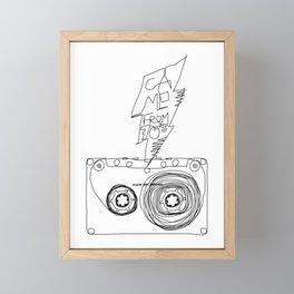 came from 70's Framed Mini Art Print