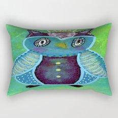 Quirky Bird 3 Rectangular Pillow